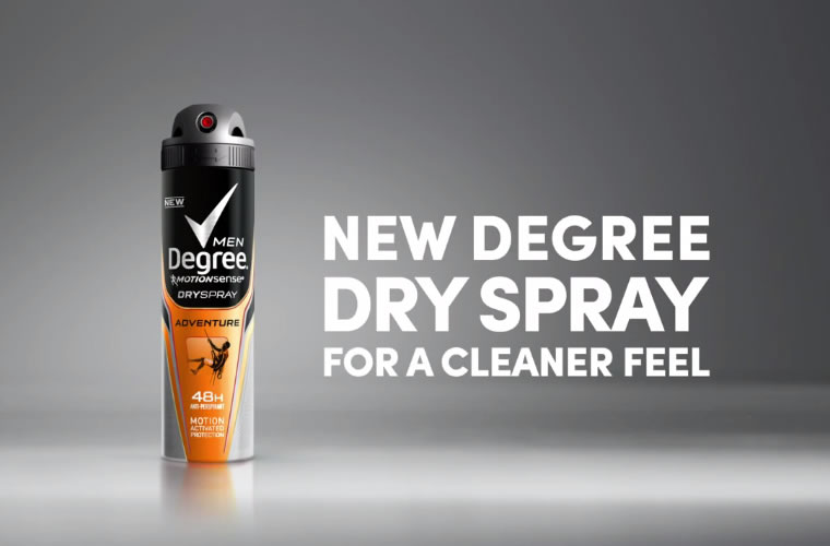 Degree Men Dry Spray